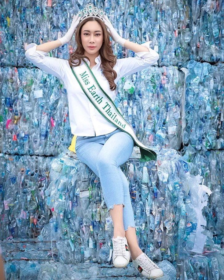 น้ำเพชร Miss Earth
